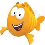 Bubble Guppies Mr. Grouper T Shirt Iron on Transfer Decal #8 by www.shopironons.com