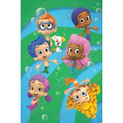 Bubble Guppies T Shirt Iron on Transfer Decal #1