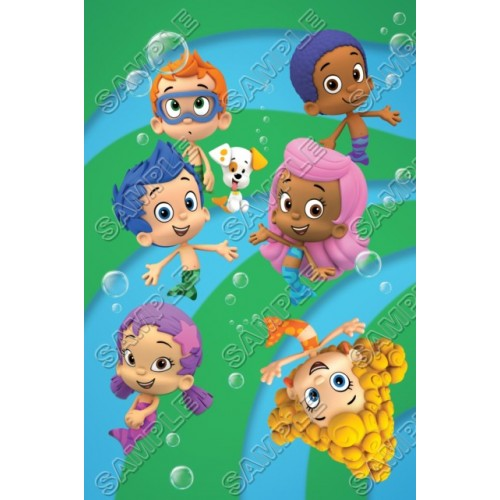 Bubble Guppies T Shirt Iron on Transfer Decal #1 by www.shopironons.com