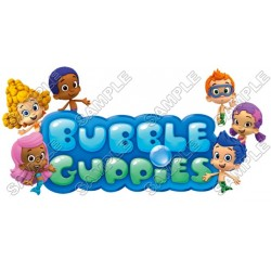 Bubble Guppies T Shirt Iron on Transfer Decal #2