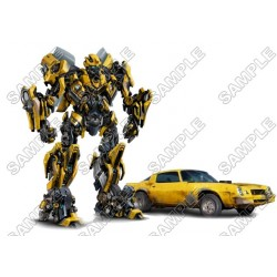 Bumblebee Transformers T Shirt Iron on Transfer Decal #22