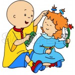 Caillou T Shirt Iron on Transfer Decal #11 by www.shopironons.com