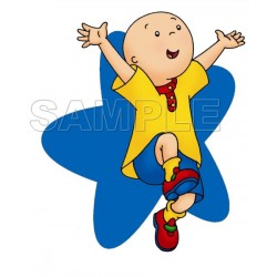 Caillou T Shirt Iron on Transfer Decal #13