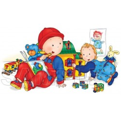 Caillou T Shirt Iron on Transfer Decal #16