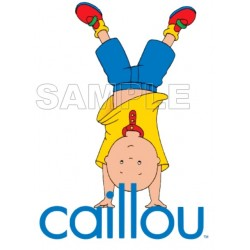 Caillou T Shirt Iron on Transfer Decal #18