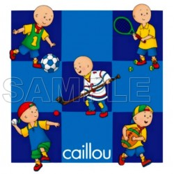 Caillou T Shirt Iron on Transfer Decal #19