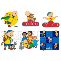 Caillou T Shirt Iron on Transfer Decal #2