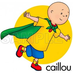 Caillou T Shirt Iron on Transfer Decal #4
