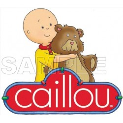 Caillou T Shirt Iron on Transfer Decal #5