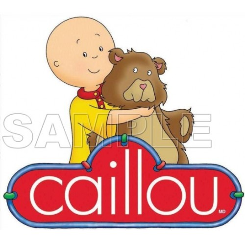 Caillou T Shirt Iron on Transfer Decal #5 by www.shopironons.com