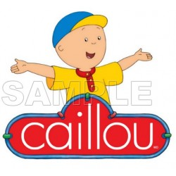 Caillou T Shirt Iron on Transfer Decal #9