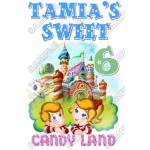 Candy Land Birthday Personalized Custom T Shirt Iron on Transfer Decal #9 by www.shopironons.com