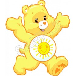 Care Bears Funshine T Shirt Iron on Transfer Decal #1