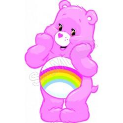 Care Bears Rainbow T Shirt Iron on Transfer Decal #2
