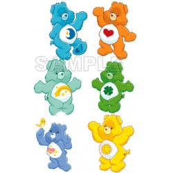 Care Bears T Shirt Iron on Transfer Decal #2