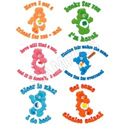Care Bears T Shirt Iron on Transfer Decal #84