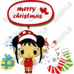 Christmas Ni Hao Kai - lan T Shirt Iron on Transfer Decal #79 by www.shopironons.com
