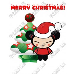 Christmas Pucca T Shirt Iron on Transfer Decal #77