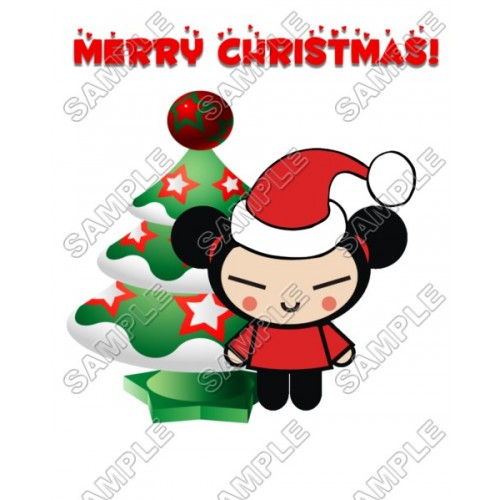 Christmas Pucca T Shirt Iron on Transfer Decal #77 by www.shopironons.com