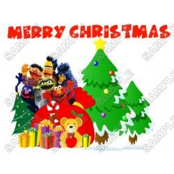Christmas Sesame Street Elmo T Shirt Iron on Transfer Decal #75