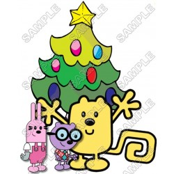 Christmas Wow Wubbzy T Shirt Iron on Transfer Decal #48