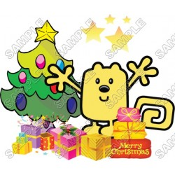Christmas Wow Wubbzy T Shirt Iron on Transfer Decal #50