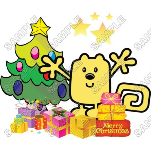Christmas Wow Wubbzy T Shirt Iron on Transfer Decal #50 by www.shopironons.com