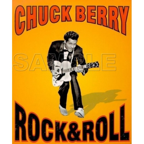 Chuck Berry T Shirt Iron on Transfer Decal #1 by www.shopironons.com