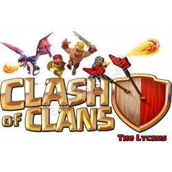 Clash of Clans T shirt Iron On Transfer Decal #1