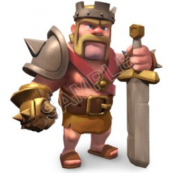 Clash of Clans T shirt Iron On Transfer Decal #2