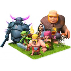 Clash of Clans T shirt Iron On Transfer Decal #3