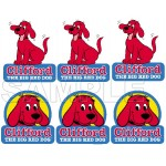 Clifford the Big Red Dog T Shirt Iron on Transfer Decal #1 by www.shopironons.com