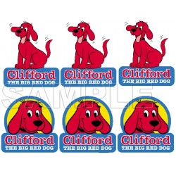 Clifford the Big Red Dog T Shirt Iron on Transfer Decal #1
