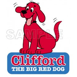 Clifford the Big Red Dog T Shirt Iron on Transfer Decal #2