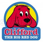 Clifford the Big Red Dog T Shirt Iron on Transfer Decal #3 by www.shopironons.com