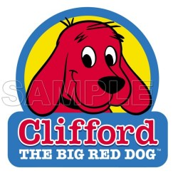 Clifford the Big Red Dog T Shirt Iron on Transfer Decal #3