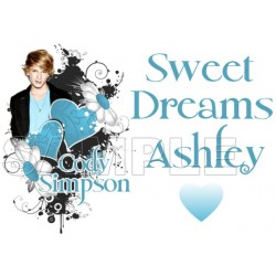 Cody Simpson Personalized Custom T Shirt Iron on Transfer Decal #3