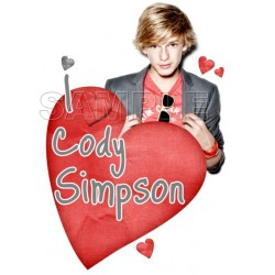 Cody Simpson T Shirt Iron on Transfer Decal #1