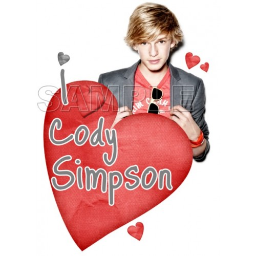 Cody Simpson T Shirt Iron on Transfer Decal #1 by www.shopironons.com