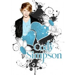 Cody Simpson T Shirt Iron on Transfer Decal #2
