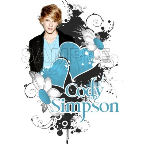 Cody Simpson T Shirt Iron on Transfer Decal #2 by www.shopironons.com