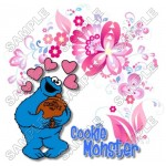 Cookie Monster Sesame street T Shirt Iron on Transfer Decal #13 by www.shopironons.com