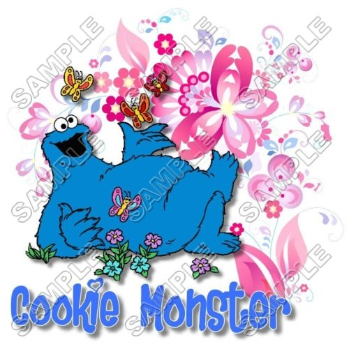 Cookie Monster Sesame street T Shirt Iron on Transfer Decal #14 by www.shopironons.com