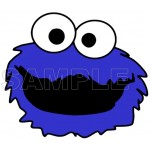 Cookie Monster T Shirt Iron on Transfer Decal #2 by www.shopironons.com