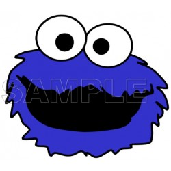 Cookie Monster T Shirt Iron on Transfer Decal #2
