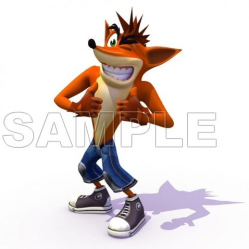 Crash Bandicoot T Shirt Iron on Transfer Decal #2 by www.shopironons.com