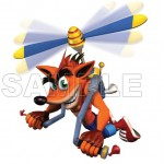 Crash Bandicoot T Shirt Iron on Transfer Decal #4 by www.shopironons.com