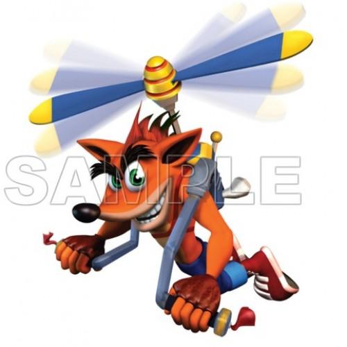 Crash Bandicoot T Shirt Iron on Transfer Decal #4 by www.shopironons.com