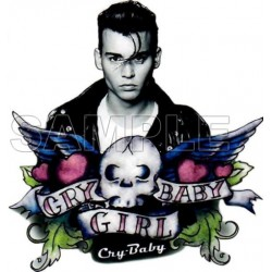 Cry Baby T Shirt Iron on Transfer Decal #1