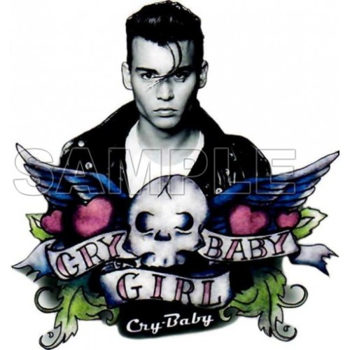 Cry Baby T Shirt Iron on Transfer Decal #1 by www.shopironons.com